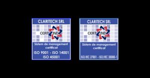 Claritech_certificari iso